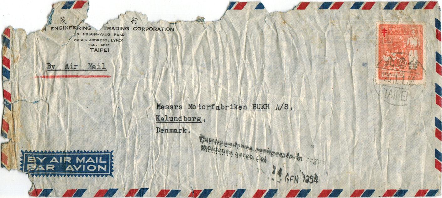 1954 01 14   Nordic Air Crash Mail
