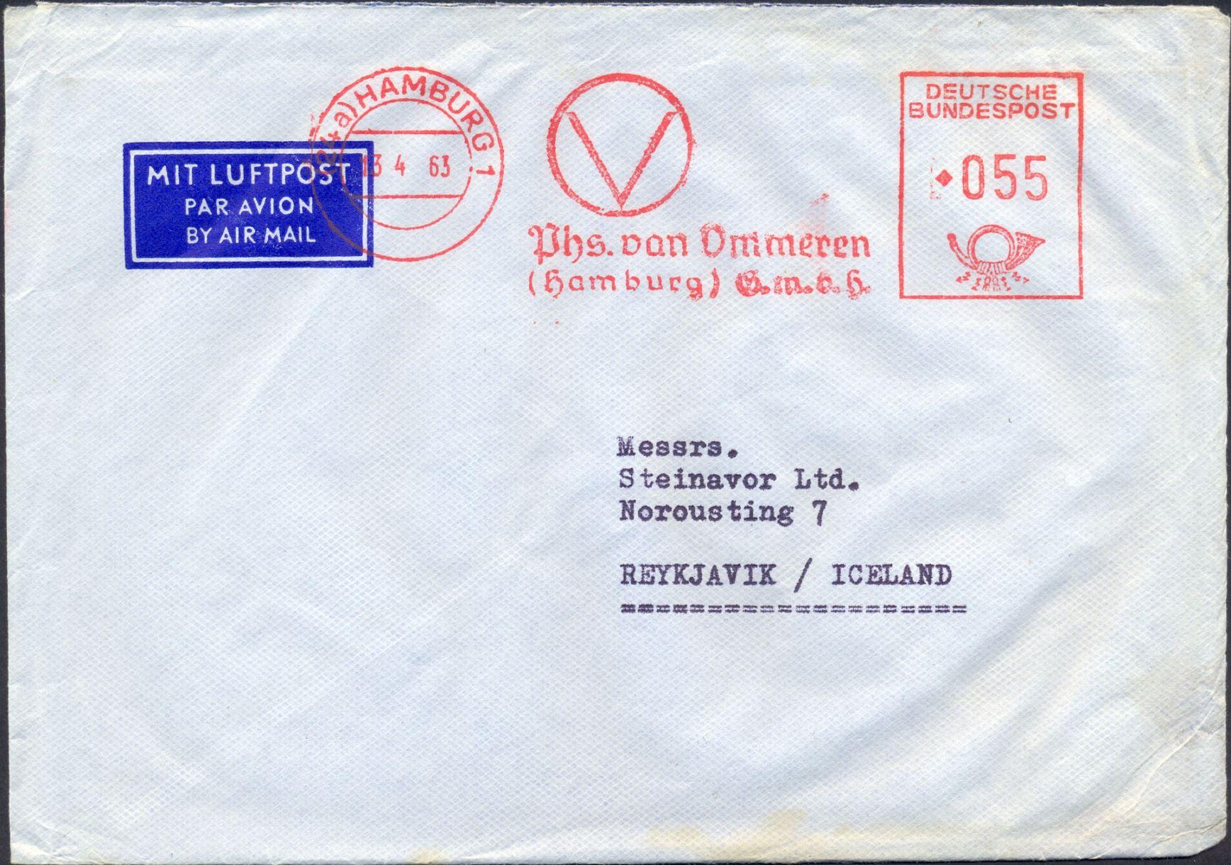 1963 04 14   Nordic Air Crash Mail